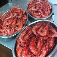 7/16/2013 tarihinde Hector F.ziyaretçi tarafından Restaurante Marisqueria L'ham'de çekilen fotoğraf