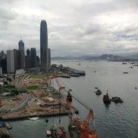 Photo taken at Grand Hyatt Hong Kong by Paphanin S. on 7/20/2013