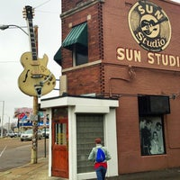 Photo taken at Sun Studio by Jeff C. on 4/4/2013