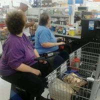Photo taken at Walmart Supercenter by Wolfie. on 8/31/2012