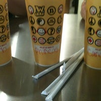 Photo taken at Which Wich? Superior Sandwiches by Tinuh❤ on 3/25/2012