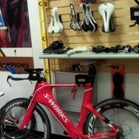 Photo taken at Sharp Bicycles by cristina f. on 2/20/2012
