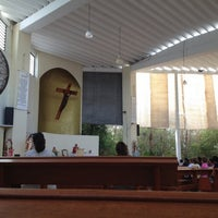 Photo taken at Catedral de Cancún by Meche N. on 5/3/2012