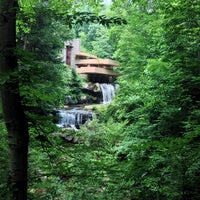 Photo taken at Fallingwater by J W. on 7/16/2013