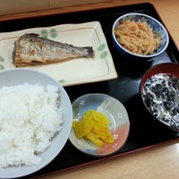Photo taken at 市場食堂 by Kouhei O. on 9/15/2012