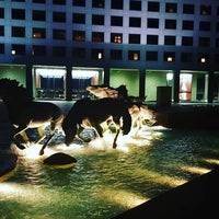 Photo taken at The Mustangs of Las Colinas by Nikki B. on 3/7/2016