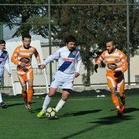 Photo taken at Abdurrahman Temel Futbol Sahası by Handan on 1/29/2017