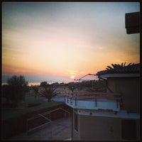 Photo taken at Marina Velca Beach by Luca T. on 7/19/2013