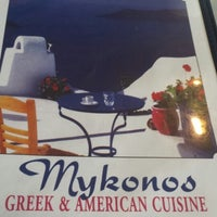 Photo taken at Mykonos Coney Island by Ronald R. on 10/5/2013
