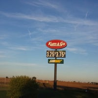 Photo taken at Kum & Go by Ronald R. on 10/9/2013