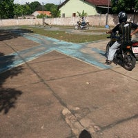 Photo taken at pista de treinamento de moto-Nova Aliança by Cleber B. on 8/7/2013