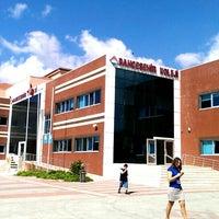 Photo taken at Bahçeşehir Koleji Ortaokulu by Mustafa C. on 9/27/2013