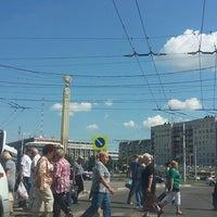 Photo taken at Площадь Победы by Наталия Х. on 7/21/2017