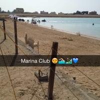 Photo taken at نادي المارينا للرياضات البحرية ب درة العروس by Lujain A. on 4/26/2014