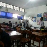 Photo taken at SMA Negeri 5 Makassar by Saras B. on 1/26/2014