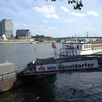 Photo taken at Köln Marina by Halim Y. on 8/5/2013