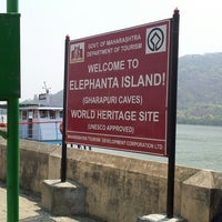 Photo taken at Elephanta Caves by Pranay N. on 3/23/2013