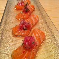 Photo taken at Uasabi Japanese Resto Bar by Sleepyfraggle on 2/24/2013