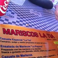 Foto tomada en Mariscos La Tia II por Victor C. el 8/18/2013