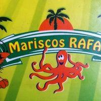 Photo taken at Mariscos Rafa by Ricardo T. on 9/20/2013