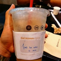 Photo taken at dal.komm COFFEE by DINIEY on 9/17/2017