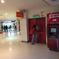 Photo taken at Cimb ATM@Leisure Mall by Live2work2play F. on 10/16/2016