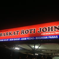Photo taken at Barkat Roti John by remy v. on 9/18/2013