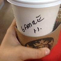 Photo taken at Starbucks by Gamze A. on 5/30/2014