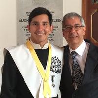 Photo taken at Aula Máxima Universidad Del Rosario by Santiago V. on 7/21/2016