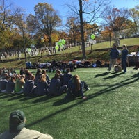 Photo taken at Edwards Soccer Field by Guy T. on 10/31/2015