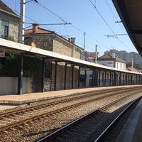 Photo taken at Estação de Cête by Francisco R. on 7/7/2016
