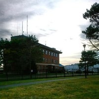 Photo taken at Coast Guard Station Gloucester by Doug P. on 9/26/2014