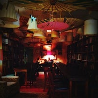 Photo taken at Dr. Bombay's Underwater Tea Party by Andrea F. on 10/30/2013