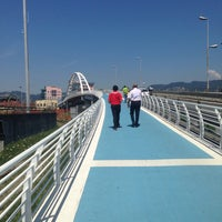 Photo taken at Ponte Di Viale San Bartolomeo by Rinda R. on 7/18/2014