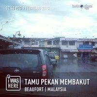 Photo taken at Tamu Pekan Membakut by mohammad s. on 2/9/2013