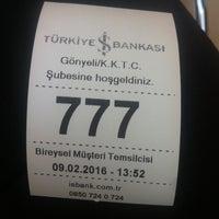 Photo taken at Türkiye İş Bankası by Çizem K. on 2/9/2016