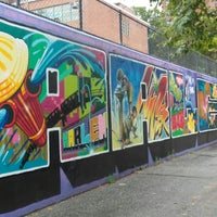 Photo taken at Graffiti Hall Of Fame by Szandra N. on 7/24/2017