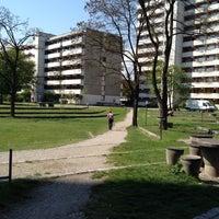 Photo taken at Studentenstadt Freimann (StuSta) by Anni on 8/7/2014