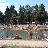 Photo taken at Přehradní nádrž Mšeno by Štěpánka K. on 7/28/2013