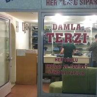 Photo taken at Damla Terzi by ümit G. on 3/28/2014