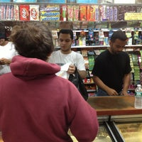 Photo taken at Taino Fast Way Deli & Grocery by Lily on 10/30/2012