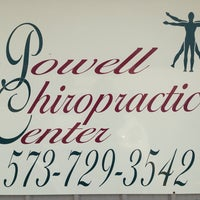 Photo taken at Powell Chiropratic Center by Lisa P. on 10/21/2013