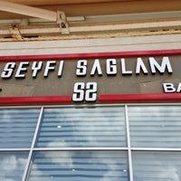 Photo taken at Seyfi Sağlam Kuaför by Betül A. on 8/23/2013