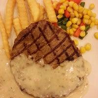Photo taken at Gowagyu Steak by Poppy L. on 1/3/2013