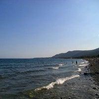 Photo taken at Средиземное море by Дмитрий К. on 10/1/2013