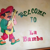 Photo taken at La Bamba Mexican and Spanish Restaurant by Denise R. on 7/17/2013
