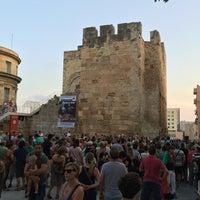 Photo taken at Plaça del Rei by Sergi B. on 8/19/2016