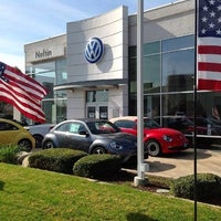 Photo taken at Neftin Volkswagen by Howie on 5/21/2015