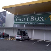 Photo taken at GolfBox Booragoon by Brandon L. on 10/1/2013