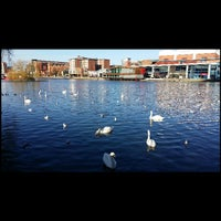 Photo taken at Brayford Wharf by Ibraheem A. on 12/27/2013